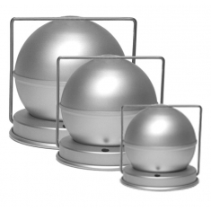 6in Spherical pudding mould