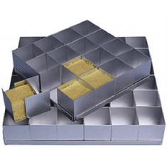 """Multi-Mini Σετ 36τεμ. Τετράγωνες Φόρμες Ψησίματος 5,08εκ (2""""in) της Silverwood"""