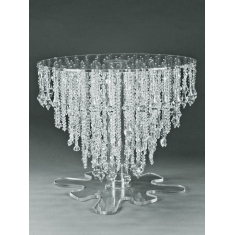 Round Crystal Stand for Cakes 18cm