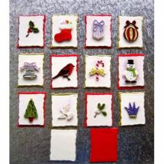 Κουπάτ Midi Σετ με Διάφορα Χριστουγεννιάτικα Θέματα - 14 Τεμ. (Christmas Midi Set )