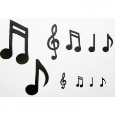 Κουπάτ Extra Large Νότες Μουσικής (Extra Large Music Notes)