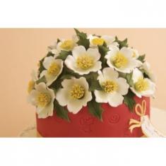 Κουπάτ Μεγάλο Χριστουγεννιάτικο Τριαντάφυλλο (Large Christmas Rose)