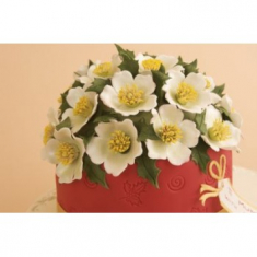 Large Christmas Rose Cutter