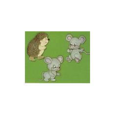 Κουπάτ Ποντικάκια & Τυφλοπόντικες (Mice & Hedgehog)
