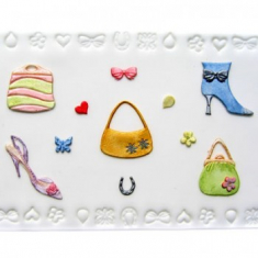 Shoes, Bags & Confetti Cutter