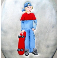 Skateboarder Cutter