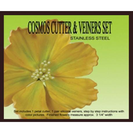 Cosmos Cutter & Veiner Set