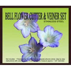 Bell Flower Cutter & Veiner Set