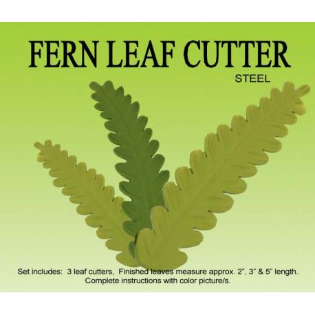 Fern Leaves Cutter Set of 3