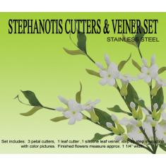 Stephanotis Cutter & Veiner Set