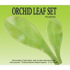Orchid Leaf Cutter & Veiner Set