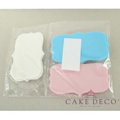 Cake Deco Wish Plaques (6pcs)
