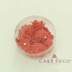 Cake Deco Red Petunia (30pcs)