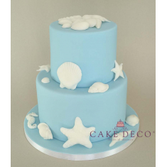 Cake Deco Seashells & Sealife (20pcs)