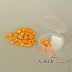 Πορτοκαλί Λουλουδάκια (50τεμ.)