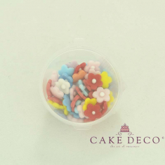 Cake Deco Flowers in various colors (50pcs)