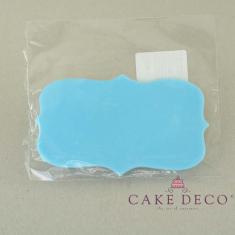 Cake Deco Skyblue Birthday Plaque