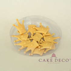Cake Deco Babyblue Royal Corona (12pcs)