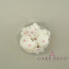 Λευκές πετούνιες με ροζ πέρλα (30τεμ.)