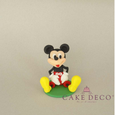 Cake Deco Sitting Mouse (inspired by the disney figure Mickey)