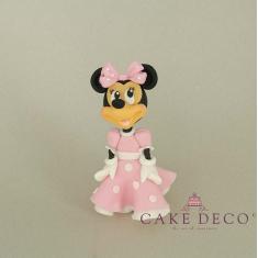 Ποντικίνα με ροζ φόρεμα  (εμπνευσμένο από την φιγούρα της Disney Minnie)