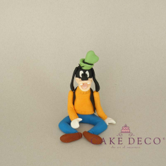 Cake Deco Dog (inspired by the disney figure Goofy)
