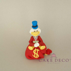 Cake Deco rich Duck (inspired by the disney figure Scrooge)