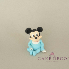 Cake Deco Babyblue Baby Mouse (inspired by the disney figure Mickey)
