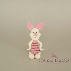 Cake Deco Piggy (inspired by the disney figure)