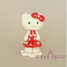 Γατούλα κόκκινη (εμπνευσμένο από την φιγούρα Hello Kitty)