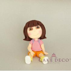 Κοριτσάκι εξερευνήτρια (εμπνευσμένο από την φιγούρα Dora η εξερευνήτρια)