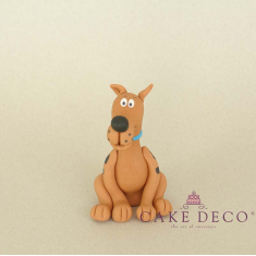 Cake Deco Dog (inspired by the figure Scoopy Doo)