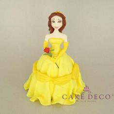 Πριγκίπισσα με κίτρινο φόρεμα (εμπνευσμένο από την φιγούρα της Disney Πεντάμορφη)