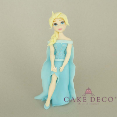 Cake Deco lux Princess of the ice (inspired by the disney figure Elsa)