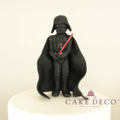 Cake Deco Lord of the darkness (inspired by the Star Wars figure Parf Vader)