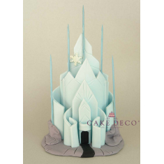 Cake Deco Castel of the princess of the ice (inspired by the Disney cartoon Elsa)