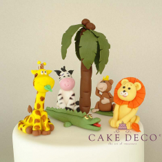 Cake Deco Zoo Animals (inspired by the cartoon)