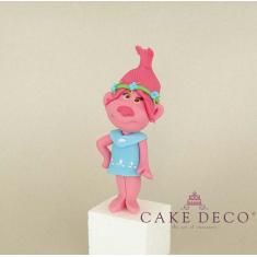 Cake Deco Troll Woman (inspired by the cartoon Trolls)