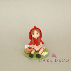 Cake Deco red riding hood