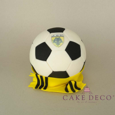 Cake Deco Football and Scarf of the AEK football team