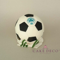 Cake Deco Football and Scarf of the Panathinaikos football team