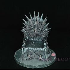 Ο Σιδηρούς θρόνος (εμπνευσμένο από τη σειρά Game of Thrones)