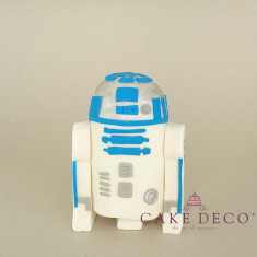 Cake Deco Robot (inspired by the Star Wars Robot R2D2)