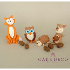 Cake Deco Forest Animals