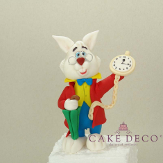 Cake Deco Rabbit (inspired by the Rabbit at Alice in Wonderland)