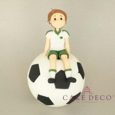 Cake Deco Panathinaikos Football Fan on a Ball