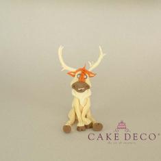 Cake Deco Reindeer (inspired by the cartoon Elsa)