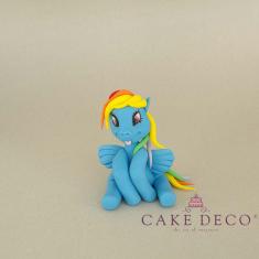 Cake Deco Pony (inspired by the cartoon My Little Pony)