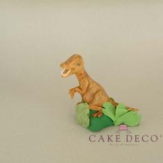 Cake Deco Brown Dinosaur