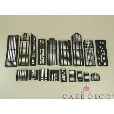 Cake Deco Skyscrapers
